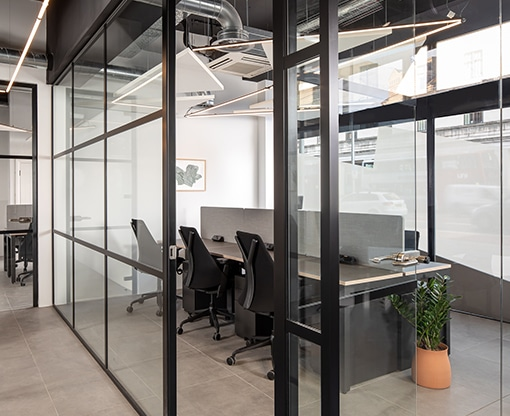 smaller office space
